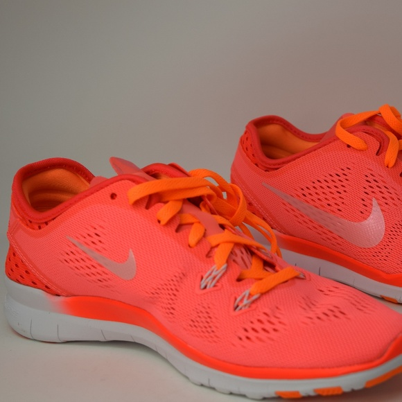 new products 990ef 68a67 Nike Free 5.0 TR FIT 5 BREATHE Lava Glo 718932-600 NWT